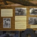 Inside barn historical material