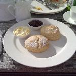 Cream Tea at Nathan Outlaw in nearby Rock