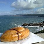 Nearby Port Isaac (and an obligatory pasty)