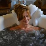 Relaxing Volcanic Ash Bath