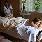Massage in Couples Cottage