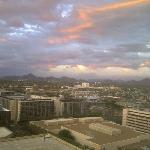 View from the 16th floor of the Sheraton Downtown Phoenix