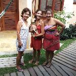 Nathália, Sabrina e Felipe tornaram nossa estada em Jeri muito prazerosa