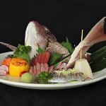Omakase sashimi platter
