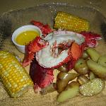 Fresh Maine Lobster with all the fixins