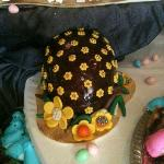 Easter egg made by Chef Bernie Oswald