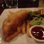 great kids fish and chips meal