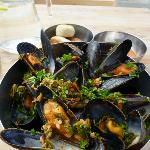 Local blue mussels