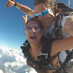 1st jump with Pat!