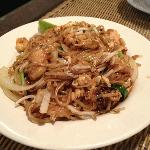 Chicken Pad Thai without nuts