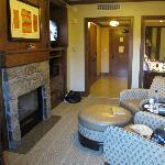 Room as seen from veranda