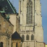 tower and side of the cathedral