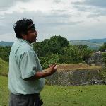 Bernard, the Mayan guide