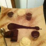 assiette du cacaotier ( que du chocolat)