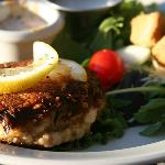 Our Signature Smoky Mountain Seafood Cakes!