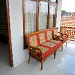 Sofa outside our room