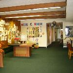kids corner entrance room