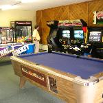 kids recreation room. Games are 50 cents