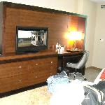 dresser..tv cabinet..desk..chair..desk top pulls out too