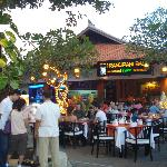 A wonderful relaxed restaurant with outdoor seating where you can be sure of a very tasty meals