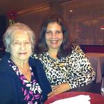My mom and me on my bd at Tomate & Amor