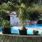 Thermalpool und Schwimmbecken