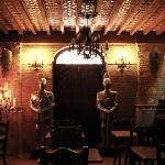 decorations in dinning room
