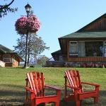 Lounging around at Fairmont Jasper Park Lodge