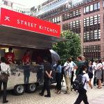 Street Kitchen Lunchtime at Broadgate Circle