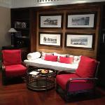 living area of Louis leonowins suite