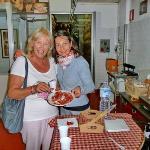 Tasting the final Prosciutto di Modena