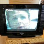 Poor old 21' TV set
