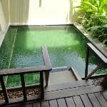 room wid personal plunge pool