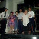 Us n the staff at grand pasa