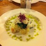John Dory with crushed potatoes and samphire. Delicious !