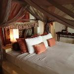 Our beautiful bed in Timor