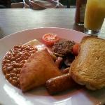 The Full Veggie Breakfast