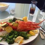$120 lobster. A Big, Big Big disappointment