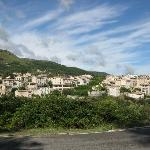 village of Tourrettes, look the palm tree (middle) where is located the b&b.jpg