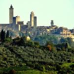 View of San Gimignano from Poggiacolle