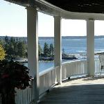 View from side porch as you enter.