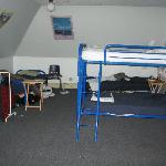 Zimmer mit Obdachlosen