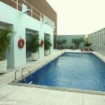 Holiday Inn, la piscine. Manaus