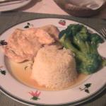 food I loved - chicken in lime and wine
