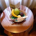 Fruta de regalo