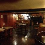 Bar eating area