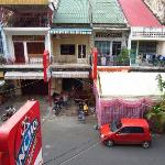 velkommen dormitory opposite the guesthouse