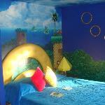 Sonic the Hedgehog theme room