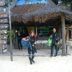 Cyan Ha Reception am Strand