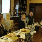 Torciano wine tasting